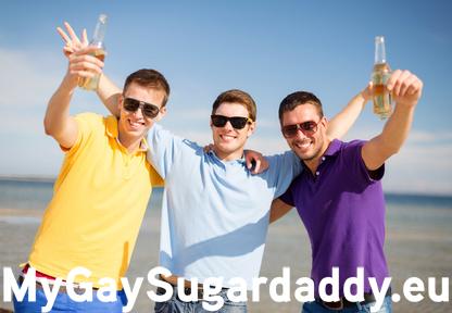 Sugarboys feiern und daten gemeinsam